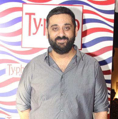 Designer Siddhartha Tytler at his after show party at Typhoo Tea Bar at Amazon India Fashion Week 2015
