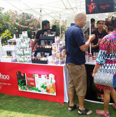 After winning the hearts of tea lovers in Pune, Gurgaon and Mumbai now Typhoo mesmerized the Bangaloreans at Farmers Market