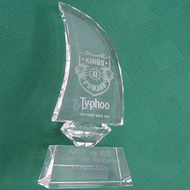 Typhoo loves its team and happy to give out its Man of the Match trophy - IPL 2009