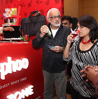 Typhoo is enjoying the enthusiasm amongst its lover at Lakme India Fashion Week