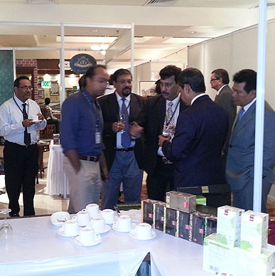 Typhoo serves the Tea Industry Titans conclave - India International Tea Convention 2012, Goa