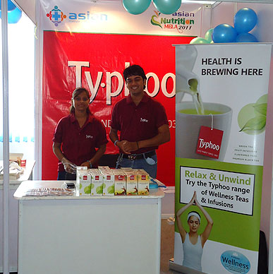 Typhoo serves flavours adding to the aroma of  Annual Flower Show 2013  - Gardens of Agri-Horticultural Society of India, Kolkata