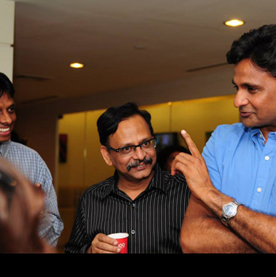 Smiles all around - The power of T with Javagal Srinath