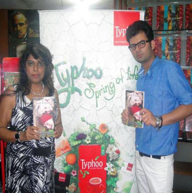 Typhoo celebrates the bond of friendship with upcoming author Shivam Singh and eminent fashion designer Namrata G