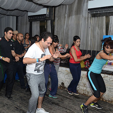Typhoo Zumba Night powered by Sonia Bajaj & Barka