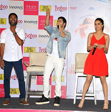 Typhoo celebrated the spirit of India's first 3D dance movie - ABCD 2