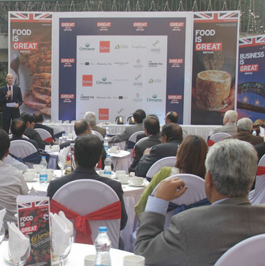 UK's finest since 1903 and so Typhoo went back to its roots in Kolkata with British tea expert Malcolm Ferris-Lay at the British Deputy High Commission Tea Tasting.