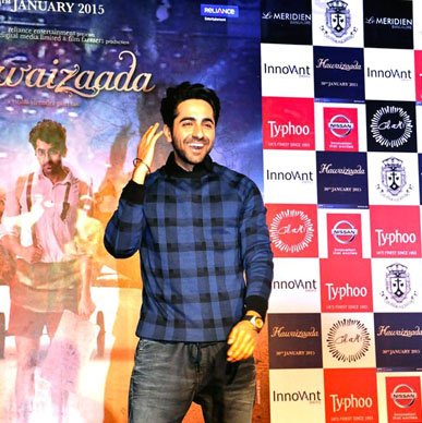 Actor Ayushman Khurana cheered with Typhoo and celebrated the spirit of Hawaaizaada.