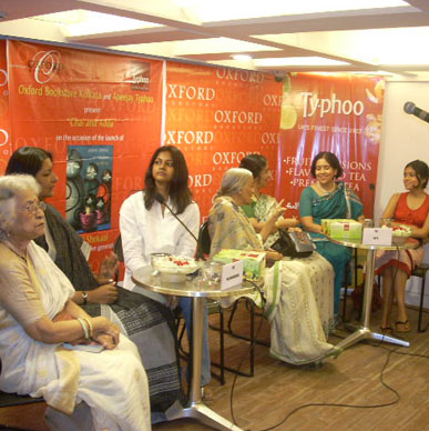 Typhoo loves it in the Kolkata's literary community  - Oxford Bookstore, Kolkata